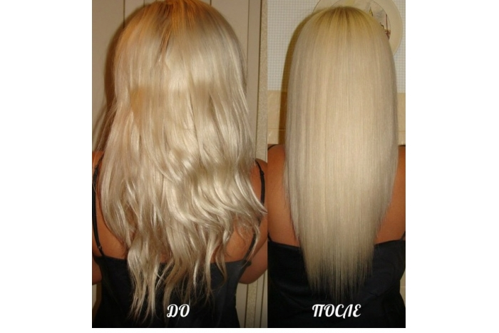 Обесцвечивание волос после кератинового выпрямления